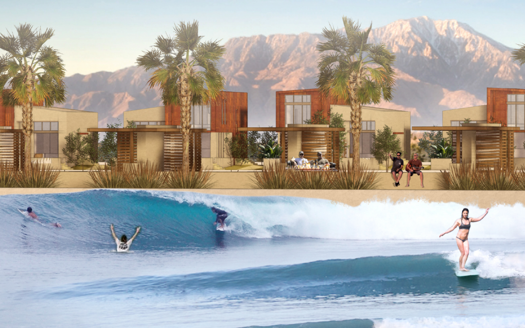 New Wave Pool Set to Open in Palm Desert, CA in 2021 according to Surfer Magazine via ASN