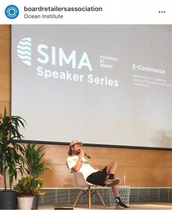 Shaun Neff at SIMA event photo credit = Doug Works