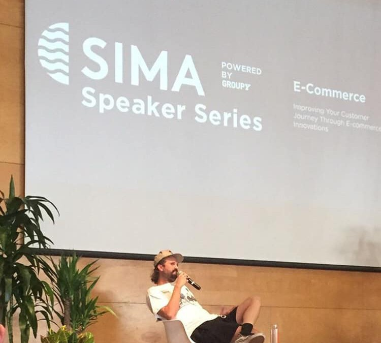 Photos and links to video of the SIMA E-Commerce Speaker Series Event via PR from ShopEatSurf.com plus commentary from BRA Executive Director