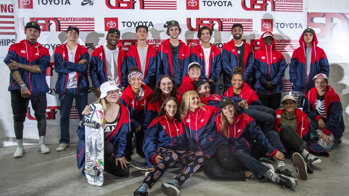 USA Olympic Team via Transworld Article