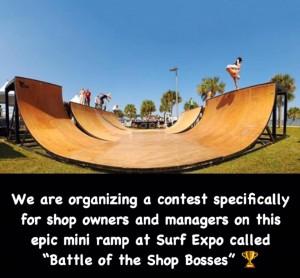 Battle of the Shop Bosses Mini Ramp