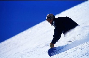 Jake Burton Carpenter Snowboarding image