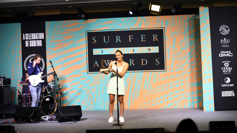 """Carissa Moore, Italo Ferreira and More Take Top Honors at 2019 Surfer Awards"" via Shop Eat Surf and Surfer"