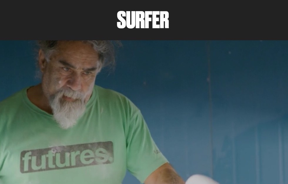 """Shaping Icon Maurice Cole on Racism, Cancer and the Power of Surfing – The Australian Legend in his own words"" by JUSTIN HOUSMAN via Surfer Mag"