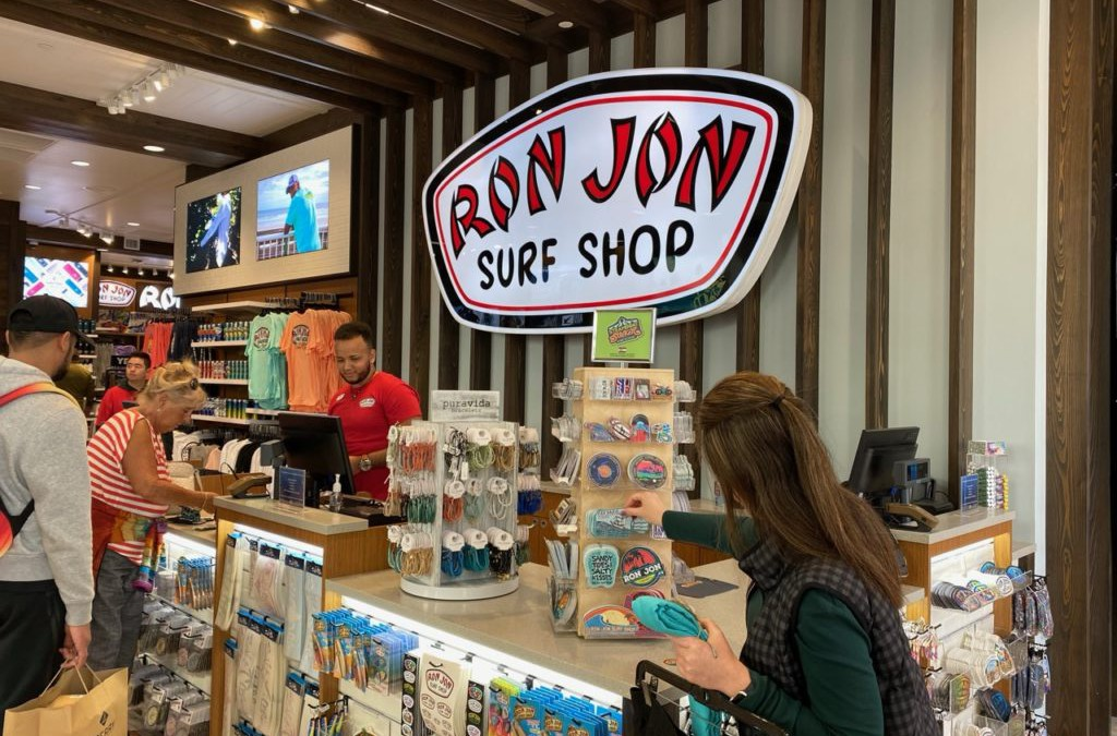 """A Talk with Ron Jon Leaders at New Disney Springs Store"" via Shop Eat Surf"