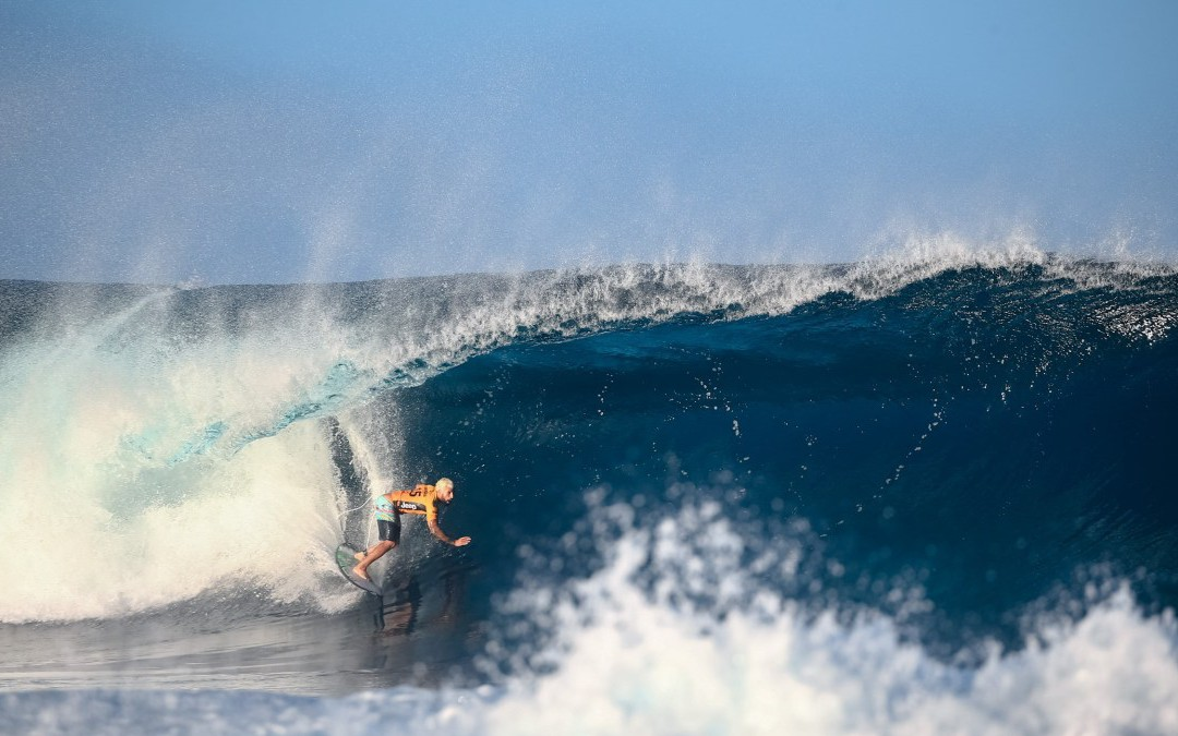 """""""Could Statistical Analysis Predict Who Will Win the Next 'CT Event?  HOW A PROFESSOR OF BEHAVIORAL SCIENCE USED A PREDICTIVE MODEL TO WIN FANTASY SURFER"""" by RAY BERGMAN via Surfer Mag"""
