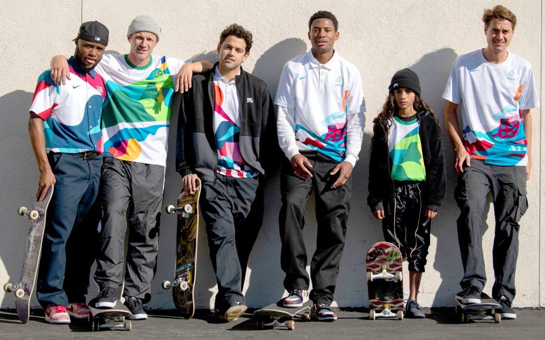 """""""Introducing Team USA's Olympic Skateboarding Uniforms via Transworld Skate"""" by Dave Carnie"""