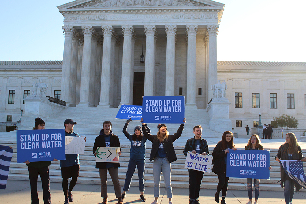 """U.S. Supreme Court Delivers Victory for the Clean Water Act!"" by Angela Howe via Surfrider Foundation"