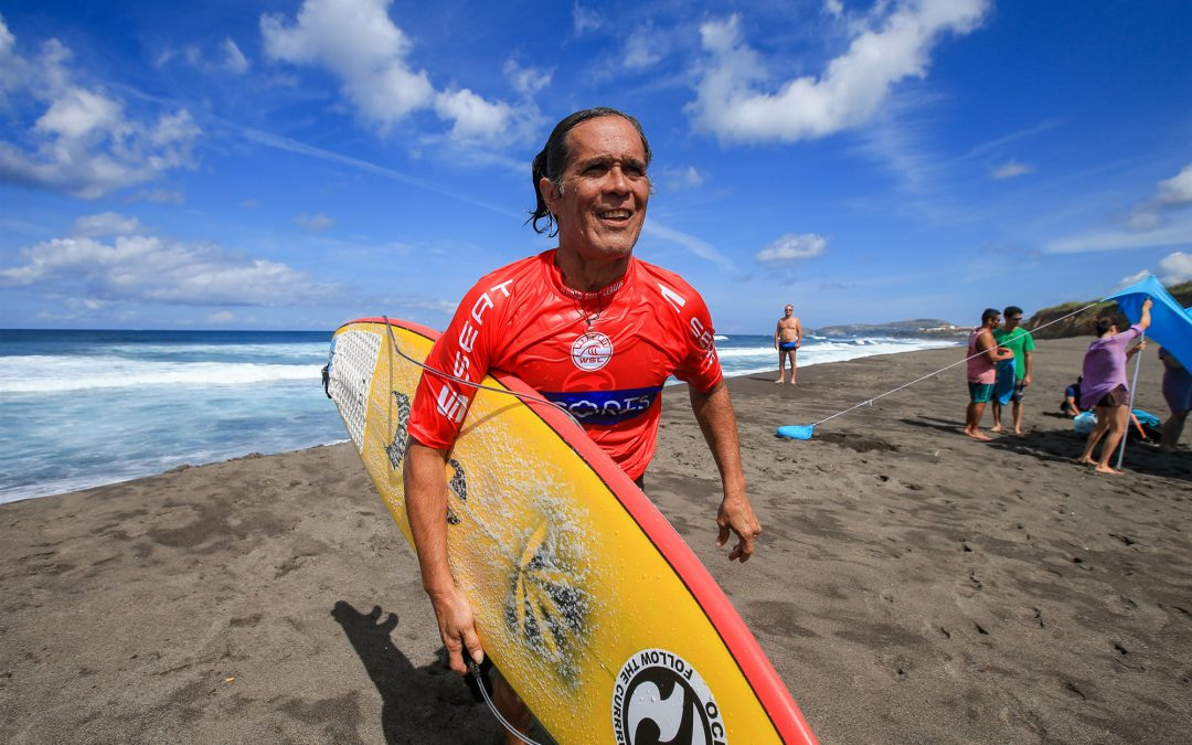 """Derek Ho, first Hawaiian male world surfing champ, dead at 55"" by Dennis Romero via NBC News plus ""ONE OF SURFING'S ALL-TIME GREATS DIED AFTER SUFFERING A HEART ATTACK"" and ""The Surf Community Remembers Pipe Legend Derek Ho"" via Surfer Mag"