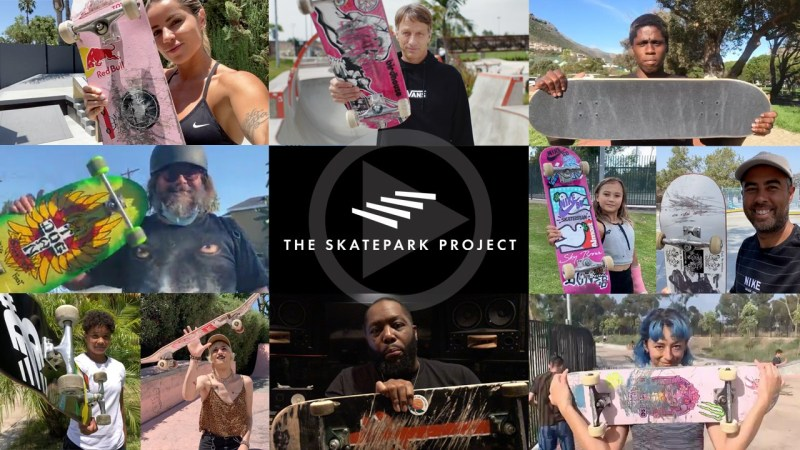 """The Tony Hawk Foundation Is Now THE SKATEPARK PROJECT"" by TWS"