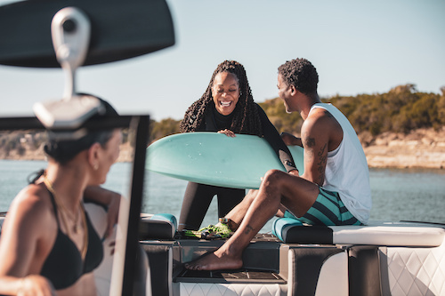 """Wakesurfing: Tips on How to Get Started"" via Discover Boating plus a message from our friends at the Water Sports Industry Association (WSIA) about #PassTheHandle Day (this Sunday)"
