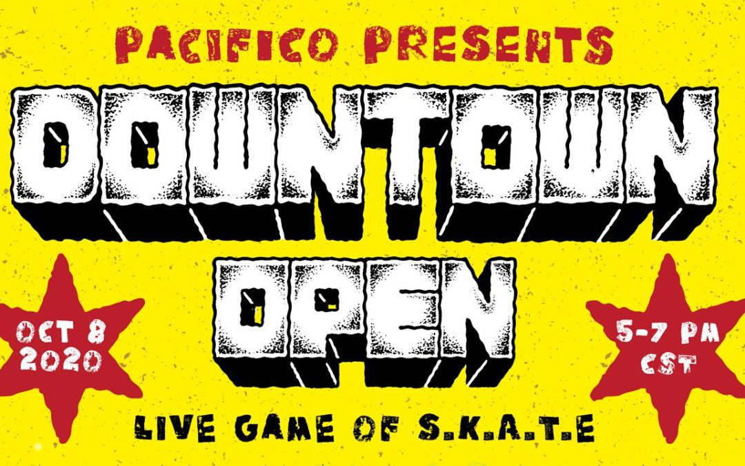 """Pacifico Presents Downtown Open Live Oct 8th"" via Transworld SKATEboarding"