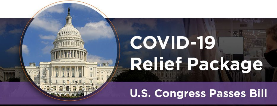 """Covid 19 Relief Package – U.S. Congress Passes Bill"" via Management One"