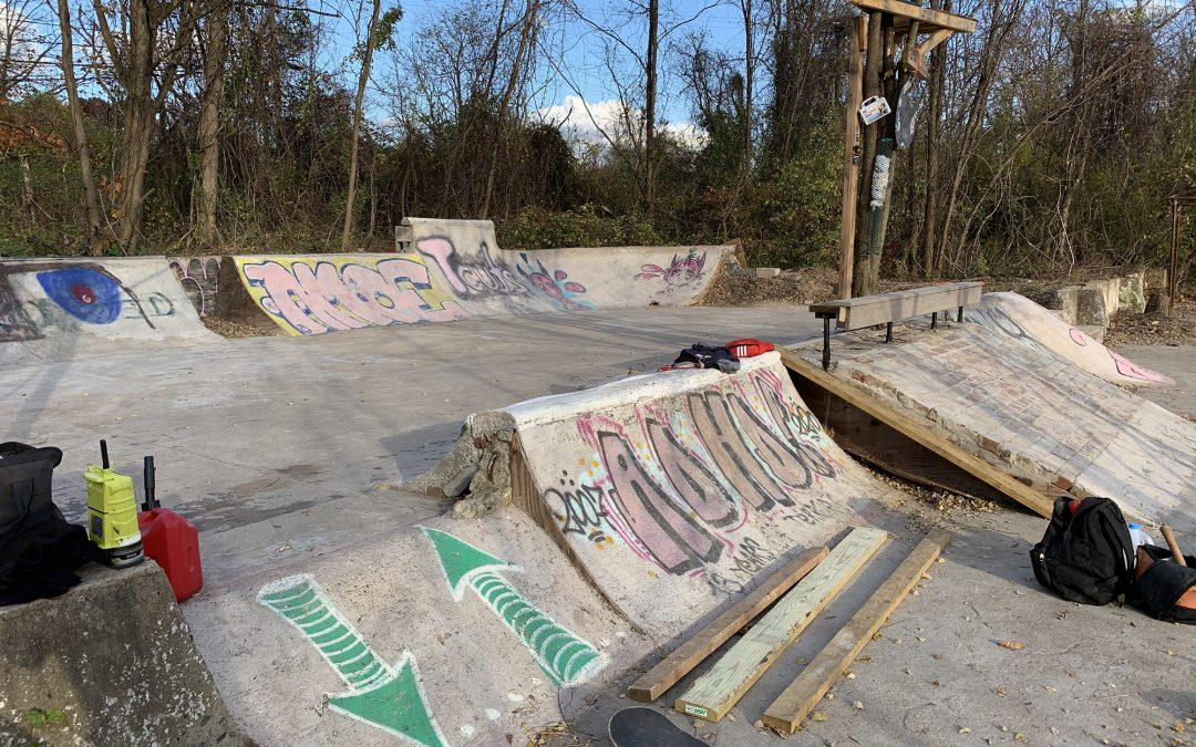"""""""THE DIY PARKS BUILT DURING COVID"""" by Larry Lanza via JENKEM Mag"""