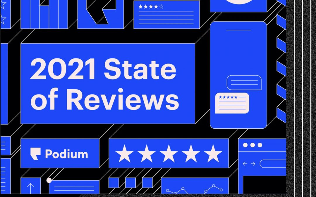 """Why you need to make Online Reviews a focus in 2021"" by Shannon Blake of Podium"