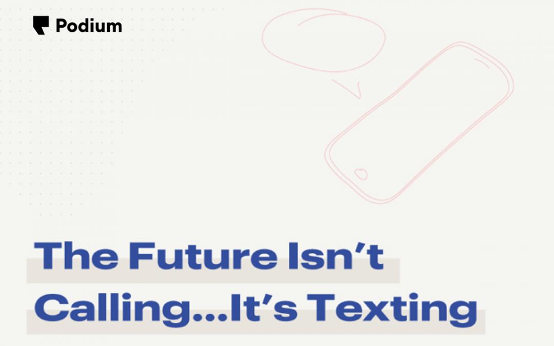 """SMS Marketing 101: Marketing that gets a response"" via BRA Supporting Vendor Partner Podium"