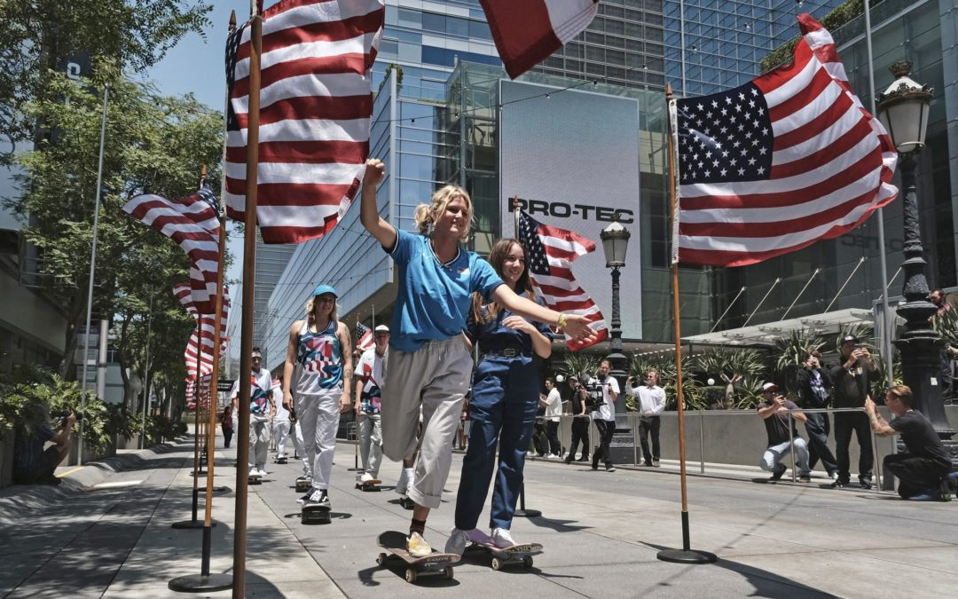 """""""Skateboarding as an Olympic sport has even some on Team USA feeling conflicted"""" by Phil McCausland via NBC News"""
