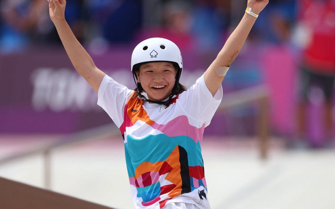 """Teenagers Win All 3 Medals In Women's Street Skateboarding Event"" by Leila Fadel via NPR"
