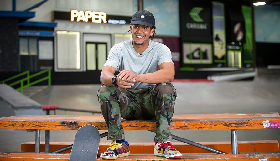 """The MLB Player Who Skateboards"" video via the Berrics"