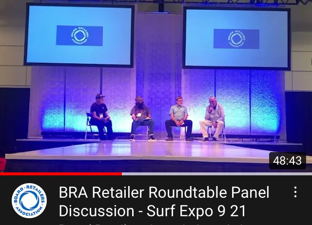 """""""If you missed the BRA Retailer Roundtable Panel Discussion at Surf Expo, you can view it and other relevant and helpful educational webinars right here"""" by BRA + Management One"""